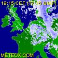 Echtzeit Niederschlagsradar Europa